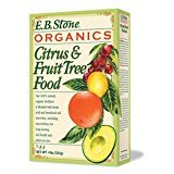 EB Stone Organics Citrus & Fruit Tree Food 7-3-3, 4lb.