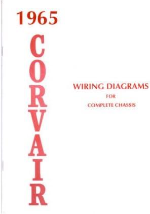 Amazon.com: 1965 CHEVROLET CORVAIR Wiring Diagrams Schematics: AutomotiveAmazon.com