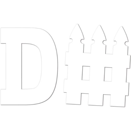D Fence Cutout Party Accessory count