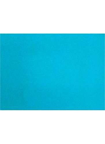 A2 Flat Card (4 1/4 x 5 1/2) - Trendy Teal (250 Qty.) by Envelopes.com
