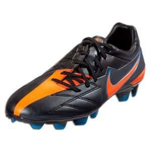 Nike T90 Strike IV FG - Black/Total Orange/Blue