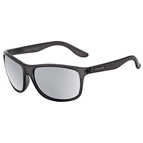 ada9b65bbf Dirty Dog Quench adultos para hombre Wrap gafas de sol en cristal negro/plata  Espejo