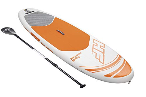 "Bestway Hydro-Force 9' x 30"" x 4.75"" Aqua Journey Inflatable Stand Up Paddle Board (Renewed)"