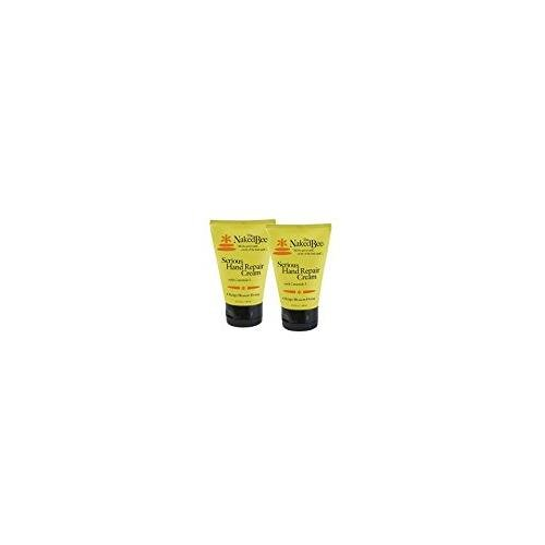 The Naked Bee Serious Hand Repair Cream Lotion - 2 Pack - Orange Blossom Honey w/ Ceramide 3