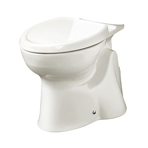 American Standard 3517AG100LS.020 AccessPRO Right Height Elongated Toilet Bowl Left with Seat, White by American Standard