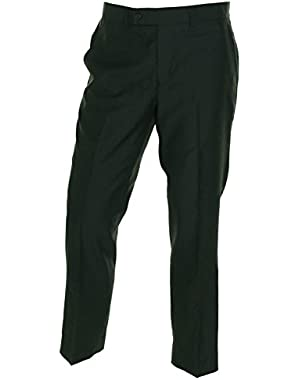 Mens Mast Woven Flat Front Dress Pants