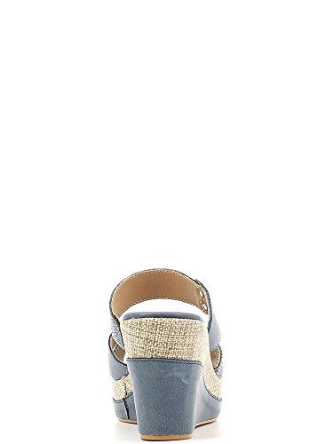 Susimoda 153296 Sandalias altos Mujeres Azul
