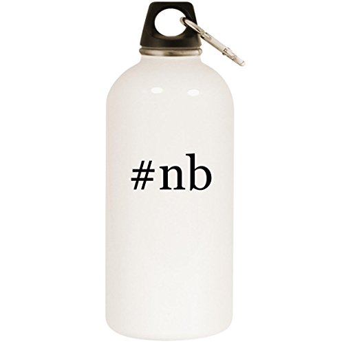 608v3 Shoes - #nb - White Hashtag 20oz Stainless Steel Water Bottle with Carabiner