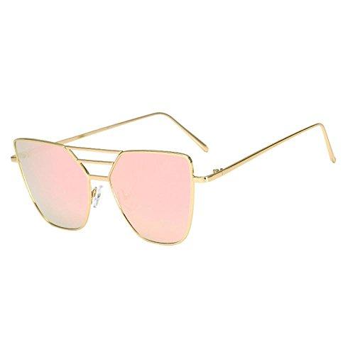 Unisex Fashion Sunglasses Hosamtel Vintage Irregular Glasses Aviator Mirror Lens Sunglasses Candy Colored Glasses Eyes Protection for Lady Women Teen Girl Men Gentleman - Candies Sunglasses Prescription