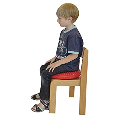 Gymnic Disc 'o' Sit Jr. Inflatable Seat Cushion, Red: Toys & Games
