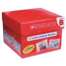 Leveled Readers Books, Level B, 75 Books, Multi, Sold as 1 (Activity Scholastic Storybook)