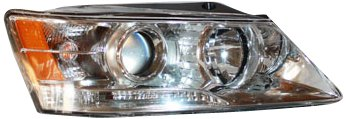 TYC 20-9011-00 Hyundai Sonata Passenger Side Headlight -