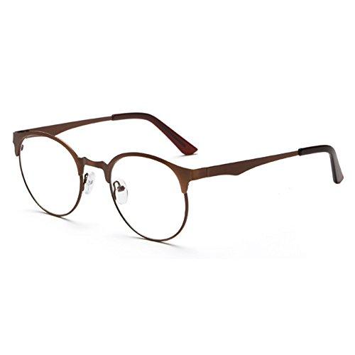 44cd713ead Envio gratis Hombres Mujeres Gafas redondas - Marco de anteojos claro lente  azul claro para computadora