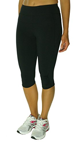 Calvin Klein Performance Cropped Leggings Black Medium