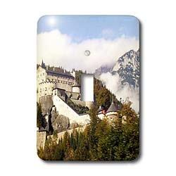 3dRose lsp_51625_1 Werfen Castle Salzburg Austria Toggle Switch