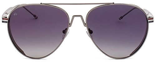 """Edition Polarized Sunglasses - PRIVÉ REVAUX ICON Collection """"The G.O.A.T"""" [Limited Edition] Handcrafted Designer Polarized Aviator Sunglasses For Men & Women (Grey)"""