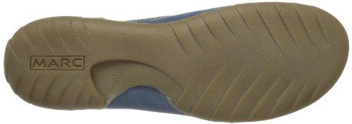 Marc Shoes Cora 1.630.19-19 Damen Schnürhalbschuhe Blau (jeans-grey 747)