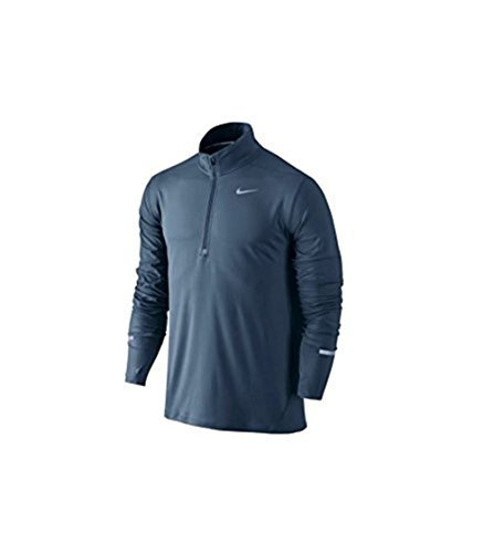 Nike Men's ELEMENT Half Zip Running Top Pullover Squadron Blue 871513 464 Sz Large