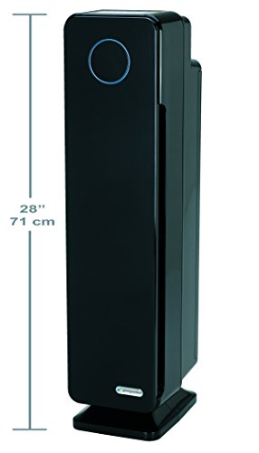 GermGuardian AC5350B Elite 4-in-1 Air Purifier with True HEPA Filter, UV-C Sanitizer, Captures Allergens, Smoke, Odors, Mold, Dust, Germs, Pets, Smokers, 28-Inch Germ Guardian Air Purifier by Guardian Technologies (Image #6)
