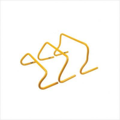 Mini Training Hurdles (Set of 6) Size: 9'' by Workoutz