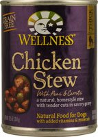 Wellness Canned Dog Food Chicken Stew with Peas and Carrots -- 12.5 oz