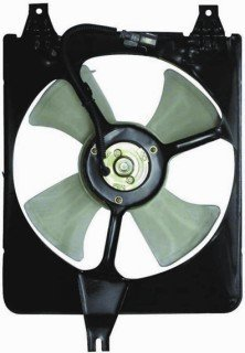 QP H3125-a Honda Accord Sedan Replacement AC A/C Condenser Cooling Fan/Shroud Assembly