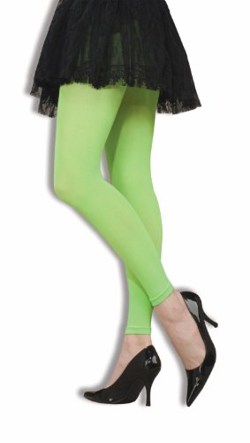 Footless Stretch Tights - Forum Novelties 63155 Footless Tights Gifts & Costumes, Neon Green
