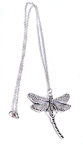 181905c811ef Juego de Tronos Collar Colgante Libélula Sansa Stark Retro - Antigüedades  de plata en caja de regalo  Amazon.es  Joyería
