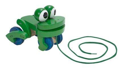 Melissa & Doug Deluxe Frolicking Frog Wooden P…