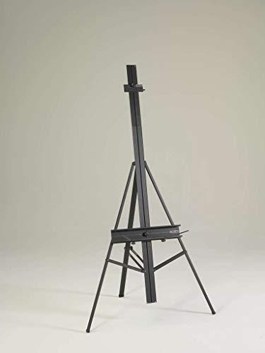 Martin Torino Aluminum Gigante Artist Easel, Black, 1 Each (92-AE122X)