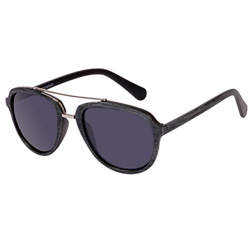 COCOSAND Classic Vintage frame Aviator Sunglasses for Men Women ()