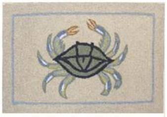 Rubber-Door-Mat-Outdoor-Rubber-Mats-Welcome-Mat-18-by-27-inches-Rubber-Mat-Beach-Crab
