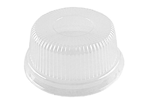 1000 Clear High Dome Lids for 4 oz Aluminum Foil Cup Muffin/Ramekin/Utility Cup by Osislon Series