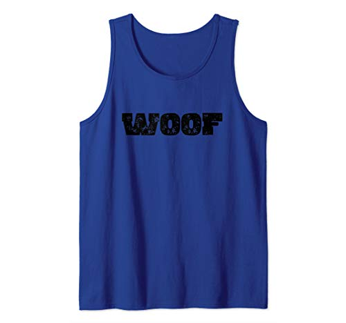 WOOF Puppy Play BDSM Kink Roleplay Fetish Tank Top