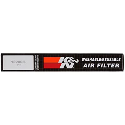 K&N Engine Air Filter: High Performance, Premium, Washable, Replacement Filter: 2007-2020 Ford/Lincoln Truck and SUV (F150, F150 Raptor, Expedition, Navigator, F250, F350, F450, F550, F650), 33-2385: Automotive