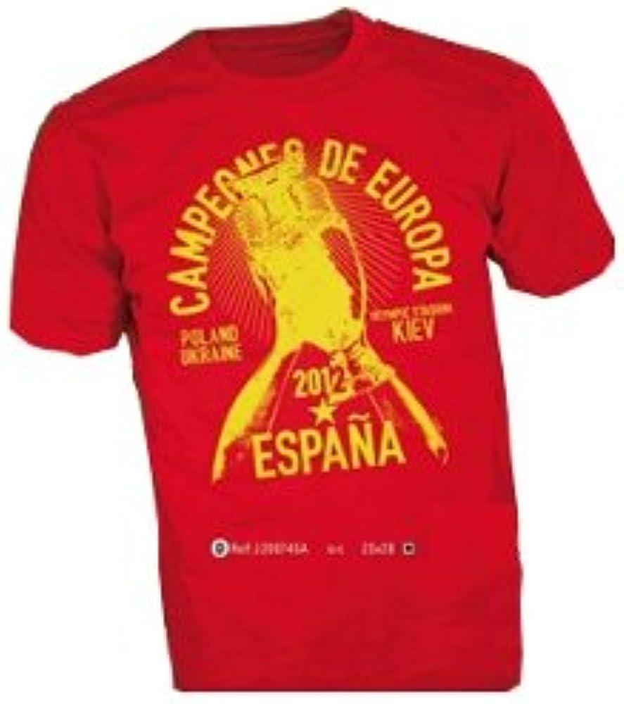 ACHEPRO España - Camiseta de fútbol para Hombre, Talla única, Color Rojo/Amarillo: Amazon.es: Ropa y accesorios