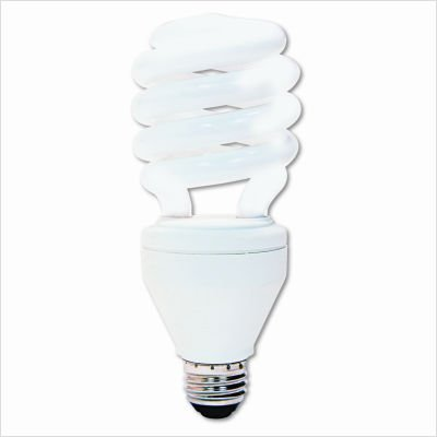 GE Lighting 89624 CFL Dimmable 26-Watt Soft White Spiral Compact Fluorescent Bulb ()
