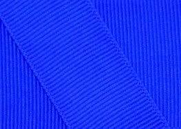 Grosgrain Ribbon 5/8 Inch 30 Yards Electric Blue - Electric Grosgrain Blue Ribbon