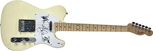 Led Zeppelin Autographed Signed Telecaster Guitar w/Page Plant Jones - PSA/DNA Certified -  HollywoodMemorabilia