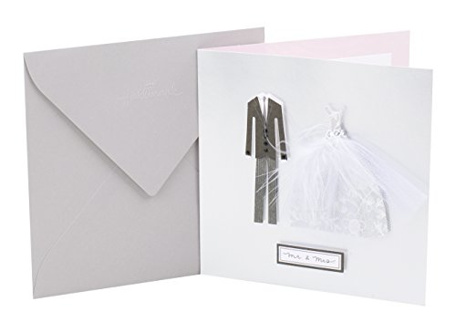 Hallmark Signature Wedding Greeting Card (Mr. and Mrs.)