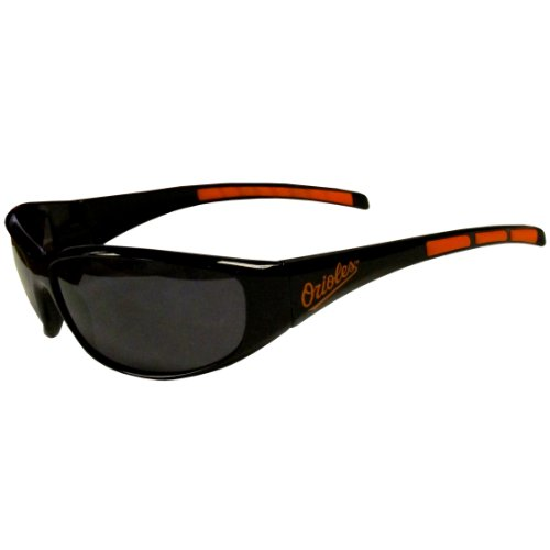 fan products of MLB Baltimore Orioles 3-Dot Wrap Sunglasses