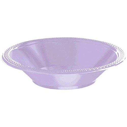 Lavender Plastic Bowls | 12 oz. | Pack of 20 | Party Supply for $<!--$3.89-->