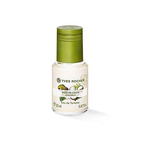 Yves Rocher Sensual Eau de Toilette - Coconut 20 Ml 0,6 fl.oz - Sensual Touch Parfum Gel