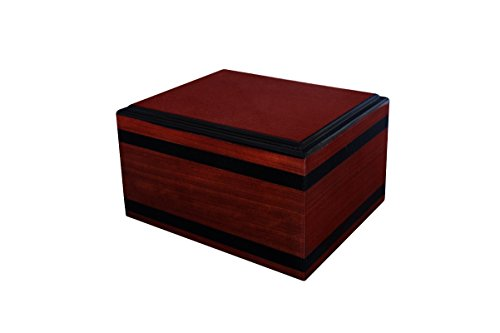 Chateau Urns Chantilly Large Cherry Wood Urn by Chateau Urns