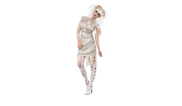 Smiffys - Disfraz de momia para mujer, talla S (23142S): Amazon ...