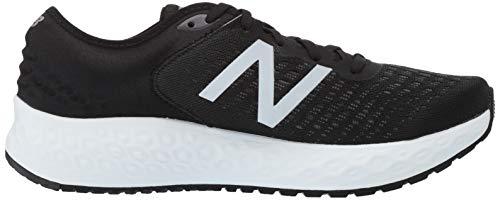 New Balance Men's 1080v9 Fresh Foam Running Shoe, Black/White, 7.5 D US by New Balance (Image #7)