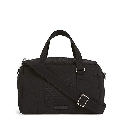 Vera Bradley Iconic 100 Handbag, Microfiber, classic black