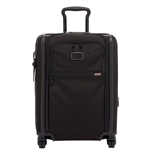 (TUMI - Alpha 3 Continental Dual Access 4 Wheeled Carry-On Luggage - 22 Inch Rolling Suitcase for Men and Women - Black )