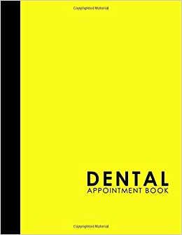 dental appointment book 4 columns appointment log appointment