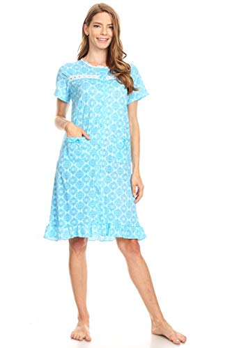 a1f622191 Women's Soft and Comfy Printed Nightgown Pajama Night Dress (Also in Plus)
